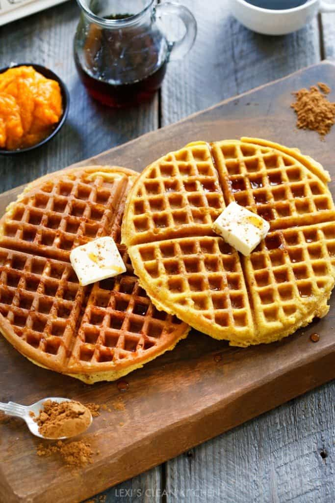 pumpkin waffles Archives - Lexi's Clean Kitchen