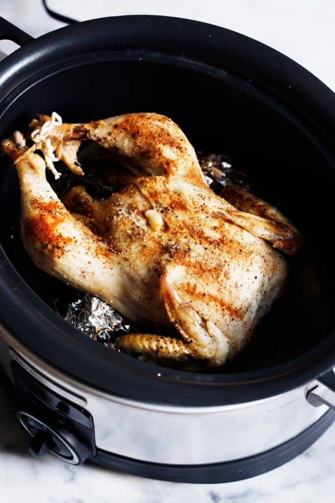 Slow-Cooker Roasted Chicken - Lexi's Clean Kitchen