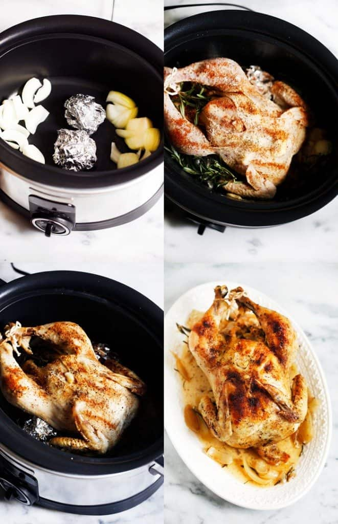 Slow-Cooker Roasted Chicken
