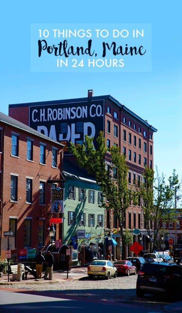 Guide To Portland Maine - 10 things to see and do in portland