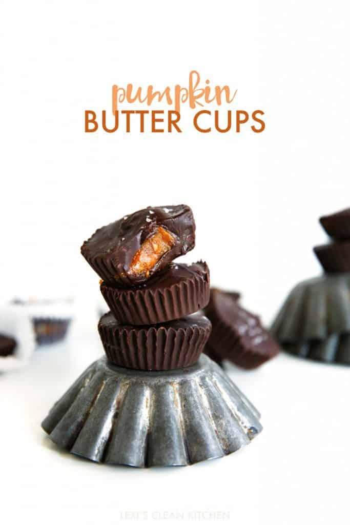 Sea Salt Pumpkin Butter Cups