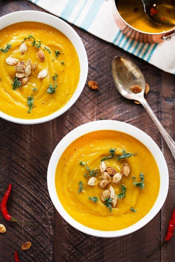 Easy Pumpkin Soup Lexi S Clean Kitchen