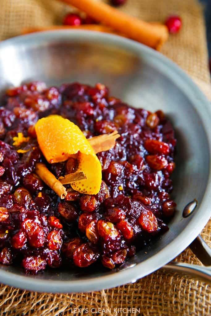 The Best Cranberry Relish (In Under 30 Minutes!)