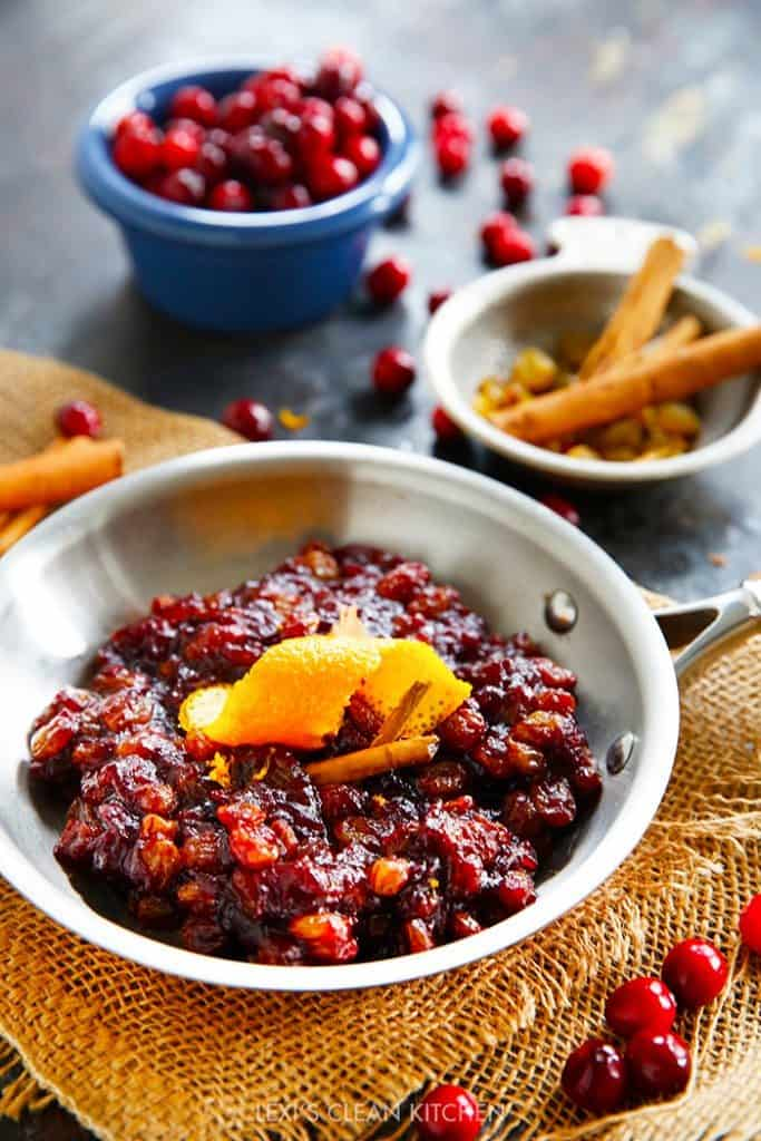 The Best Cranberry Relish In Under 30 Minutes Lexi S Clean Kitchen