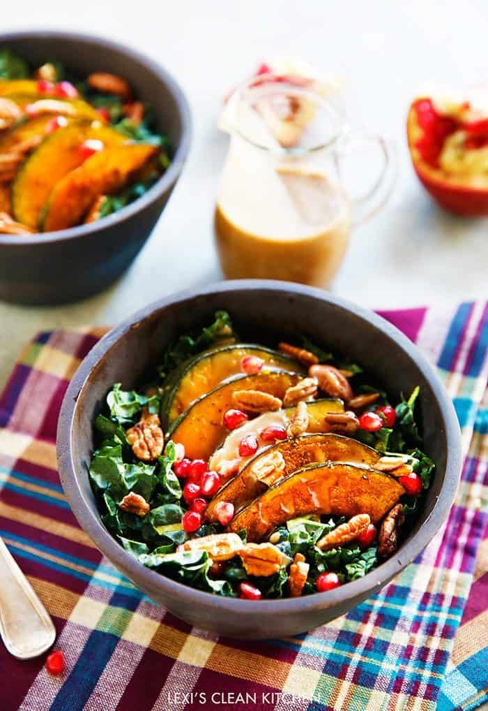 Harvest Salad with Maple Balsamic Dressing (Video)