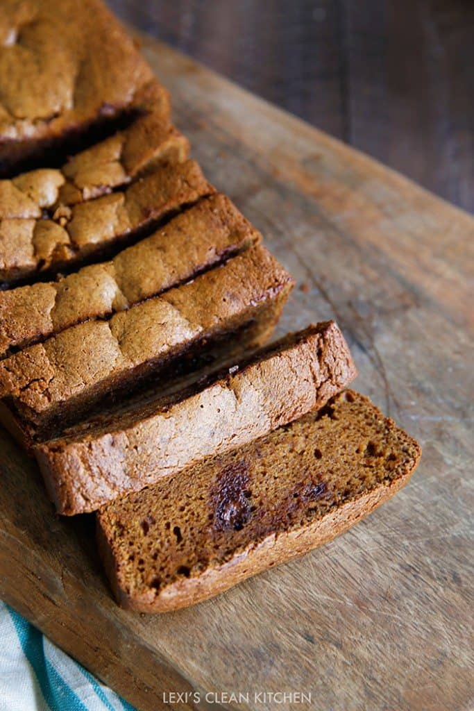 Pumpkin Bread From Clean Eating With A Dirty Mind Cookbook Lexi S Clean Kitchen