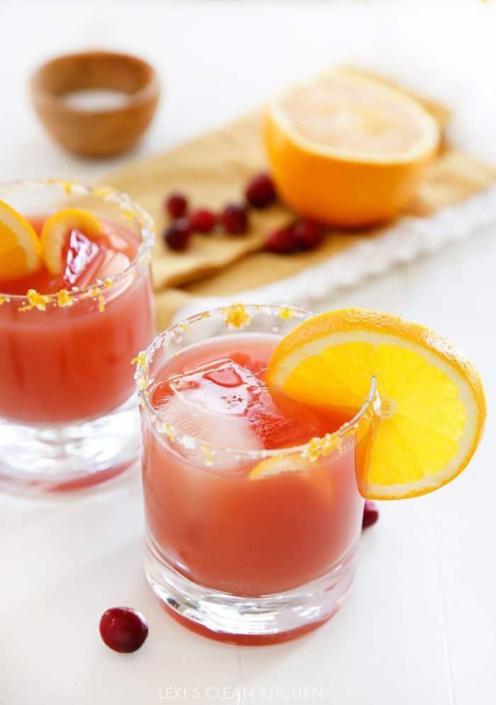 Cranberry Orange Margarita