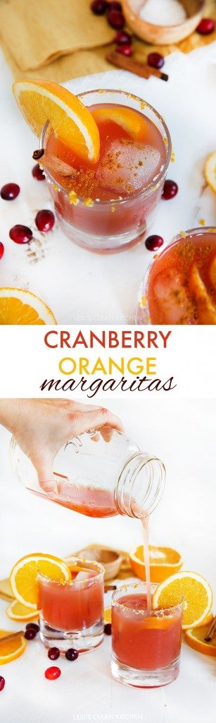 Cranberry Orange Margarita