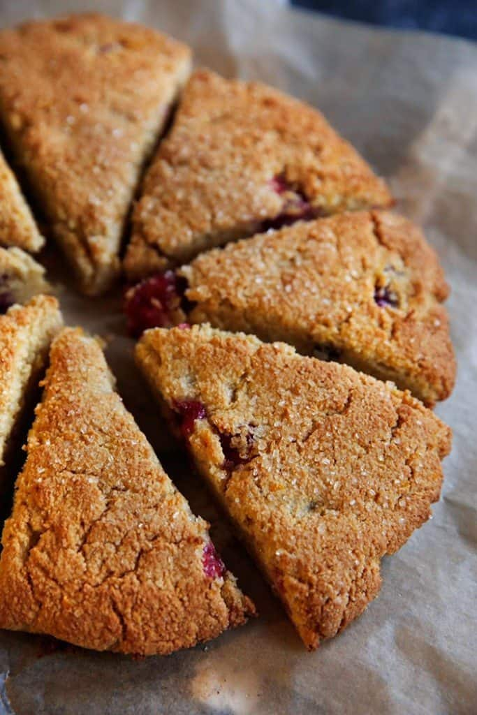 Cranberry Orange Scones - Lexi's Clean Kitchen