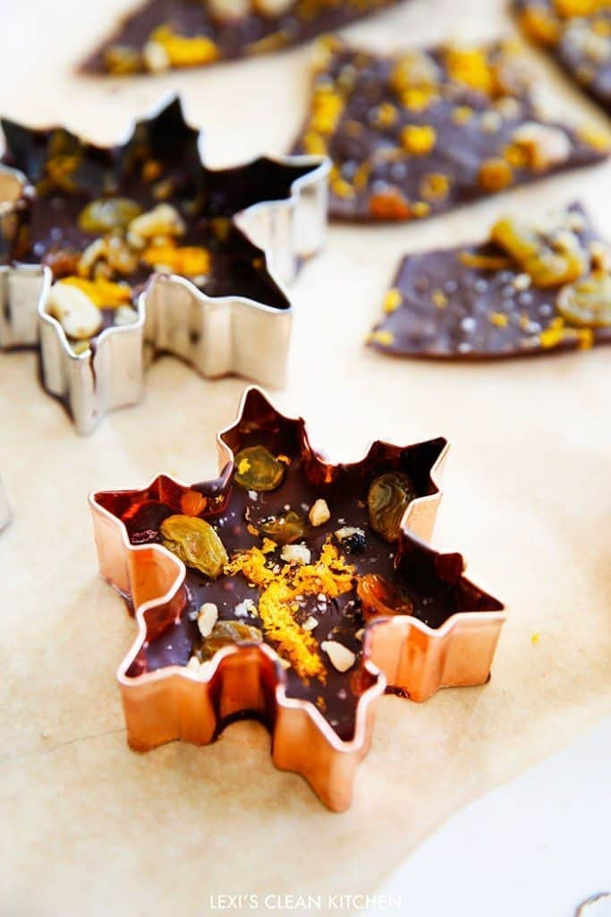 Orange Zest and Sea Salt Bark - Lexi's Clean Kitchen