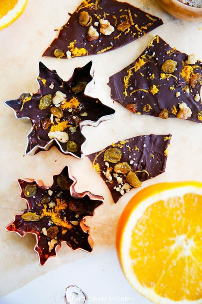 Sea Salt Orange Zest Bark