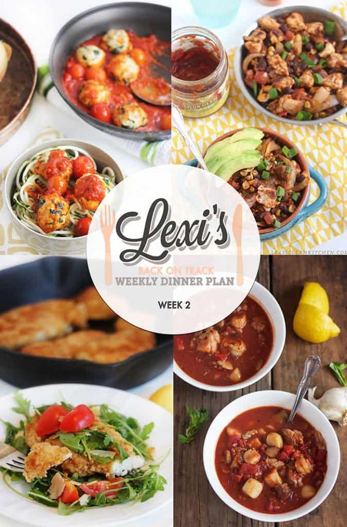 Lexi's Weekly Dinner Plan (Week 2)