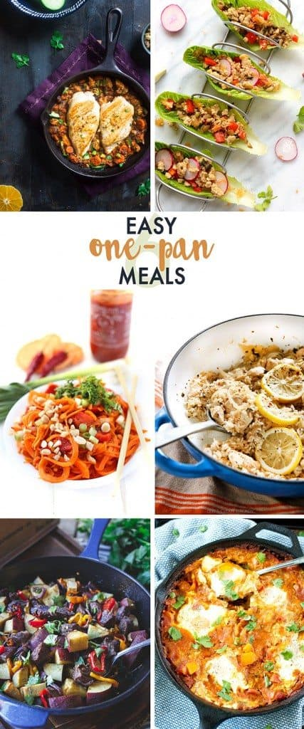 6 Easy One-Pan Meals