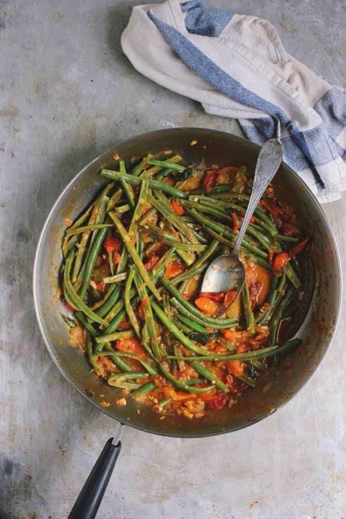 Green Beans and Marinara