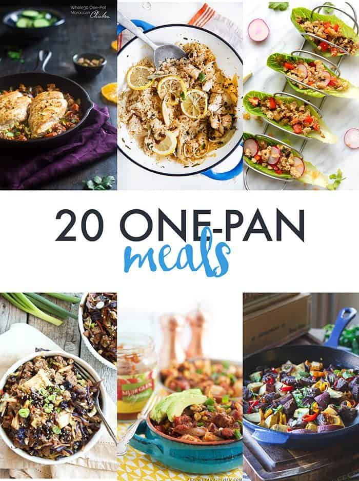 20 Delicious One-Pan Meals