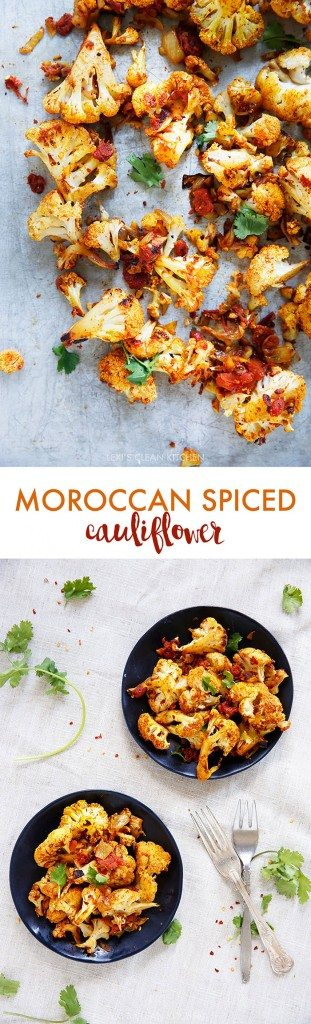 Spiced Roasted Cauliflower