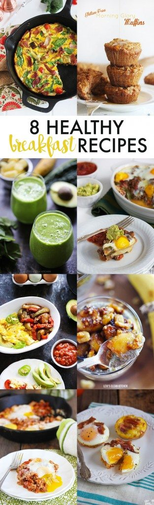 8 Healthy Breakfast Recipes