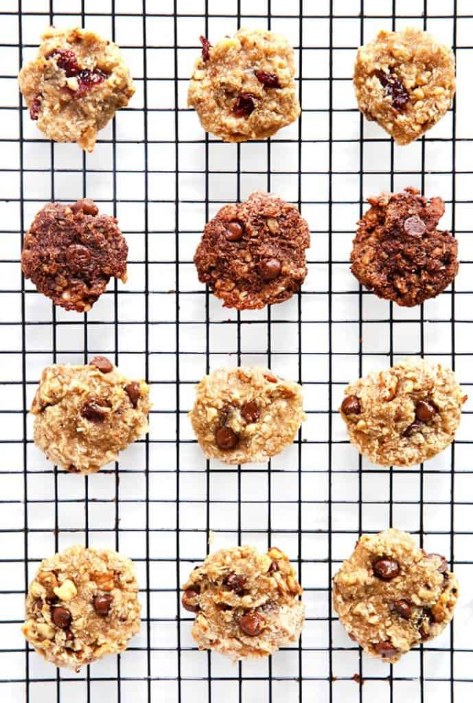 Easy Breakfast Cookies Cooling on Baking Sheet