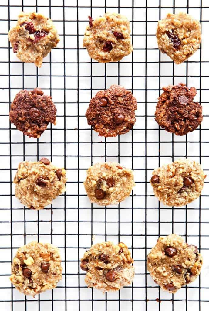 Easy Breakfast Cookies Cooling on Baking Sheet