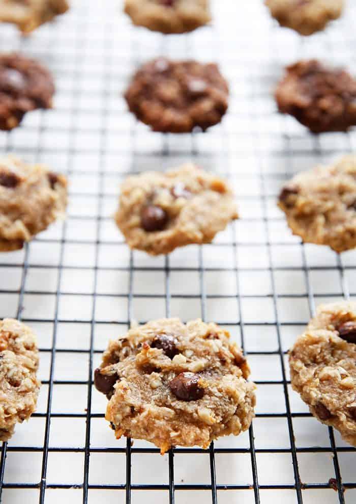 Healthy Banana Chocolate Chip Breakfast Cookies