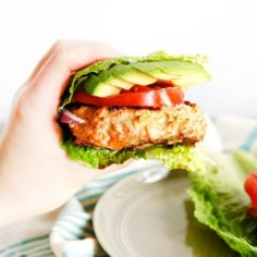 Moroccan Chicken Burgers with Special Sauce