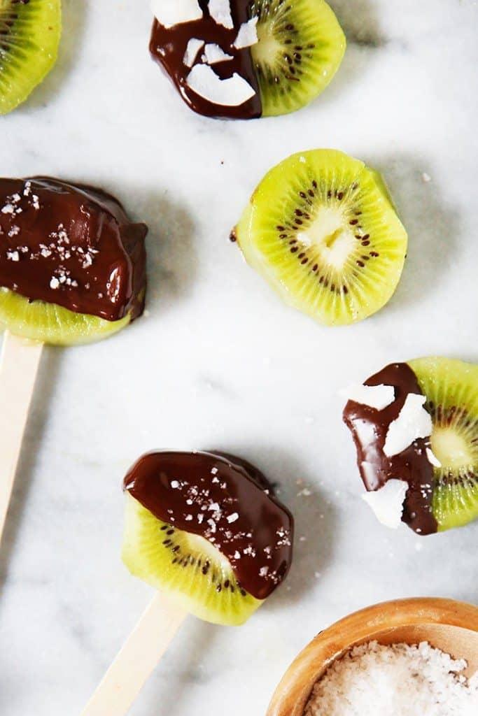 Easy Kiwi Pops