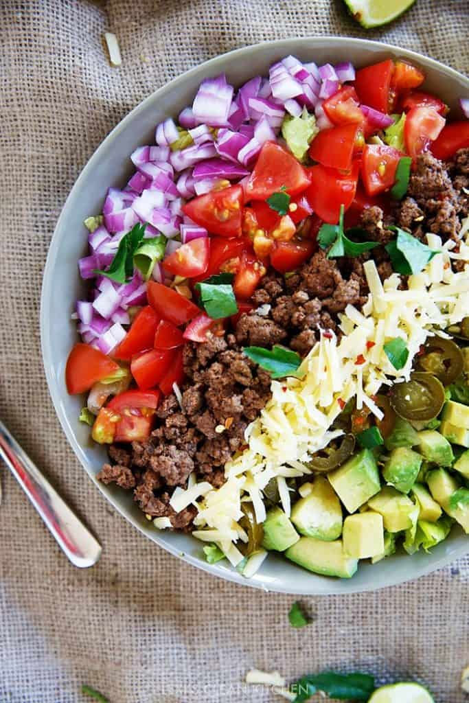 Taco Salad - Lexi's Clean Kitchen