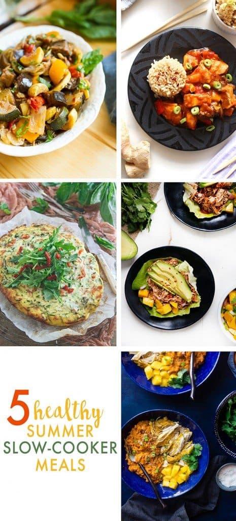 5 Slow Cooker Summer Meals