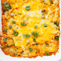 Healthy Buffalo Chicken Dip