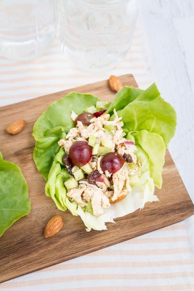 almond butter chicken salad
