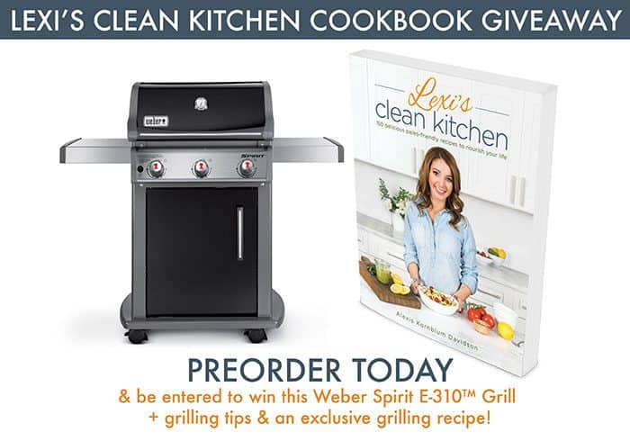Cookbook Weber Grill Giveaway