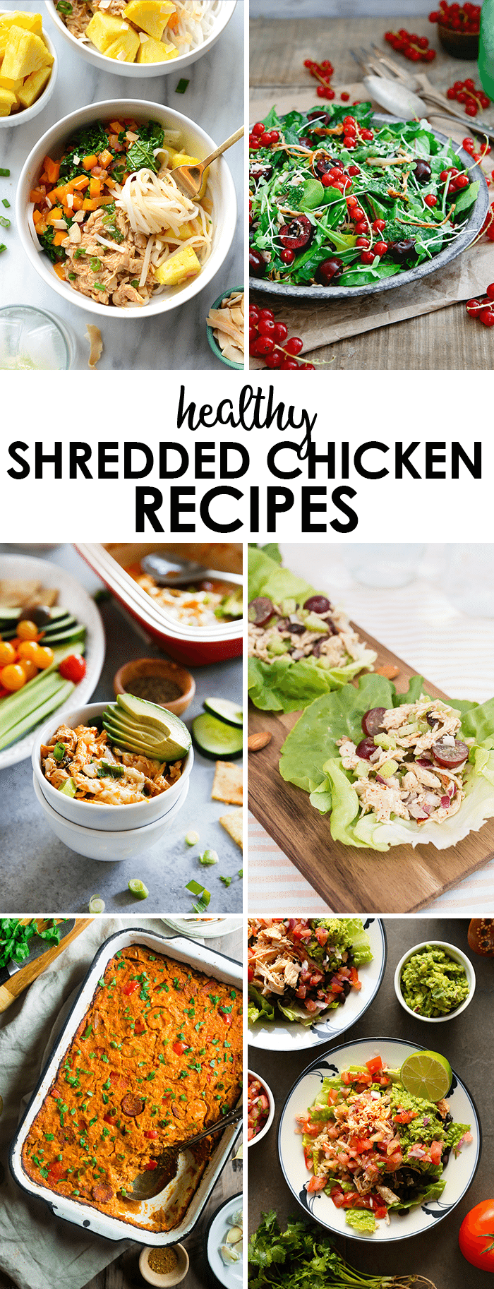 Healthy Shredded Chicken Recipes