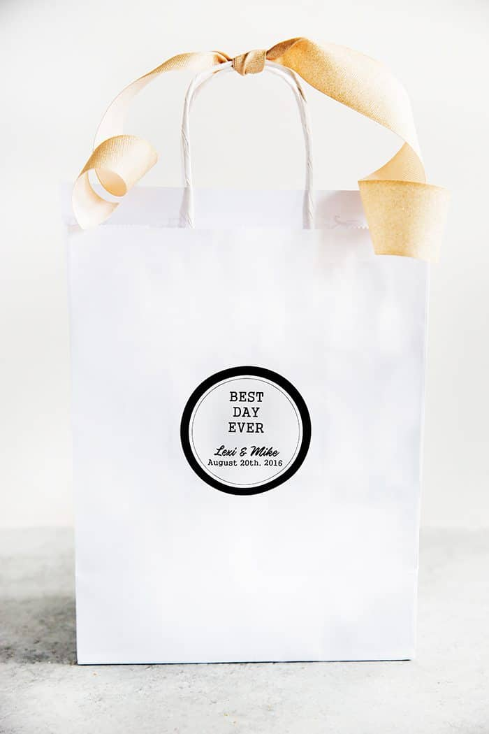 Wedding Hotel Welcome Bags