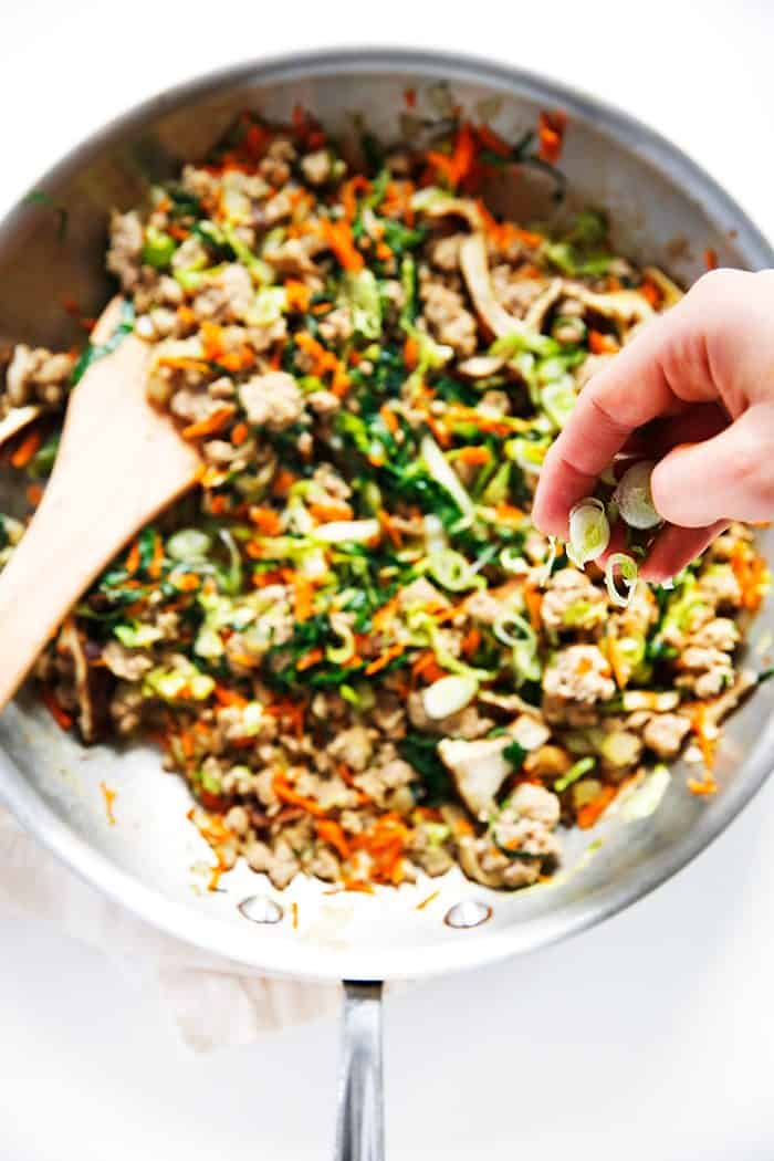Egg Roll Bowls Lexi S Clean Kitchen
