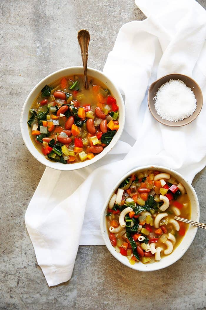 Green Chile Vegetable Soup