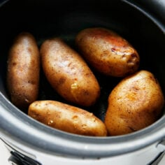 Slow Cooker Baked Potato Bar