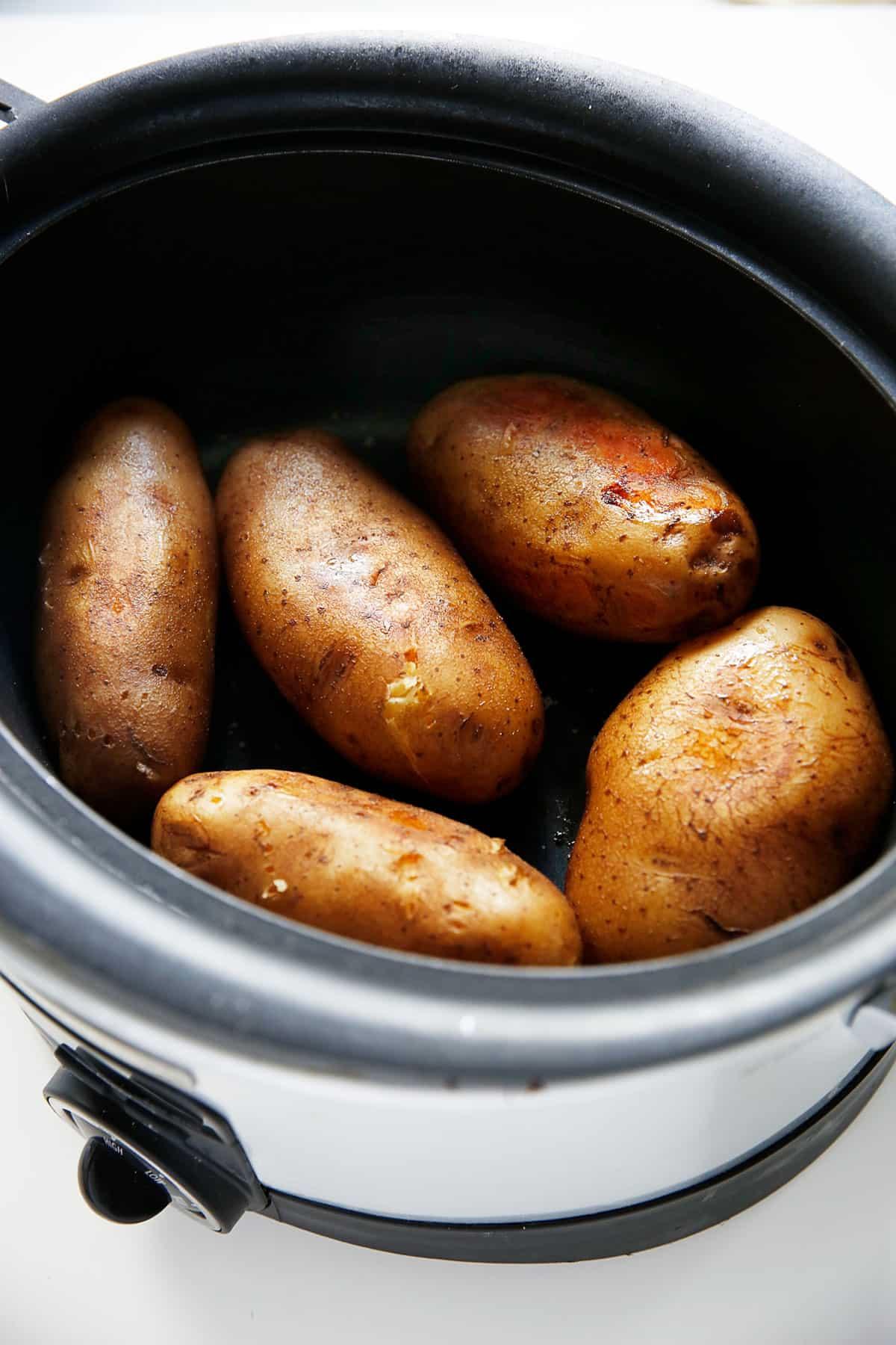 Slow Cooker Baked Potato Bar