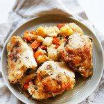 Slow Cooker Chicken and Veggie Dinner