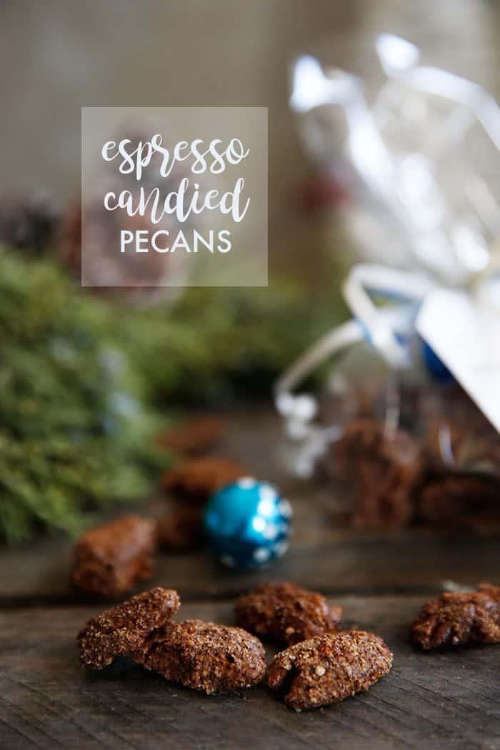 Espresso Candied Pecans