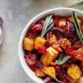Cranberry Walnut Roasted Acorn Squash