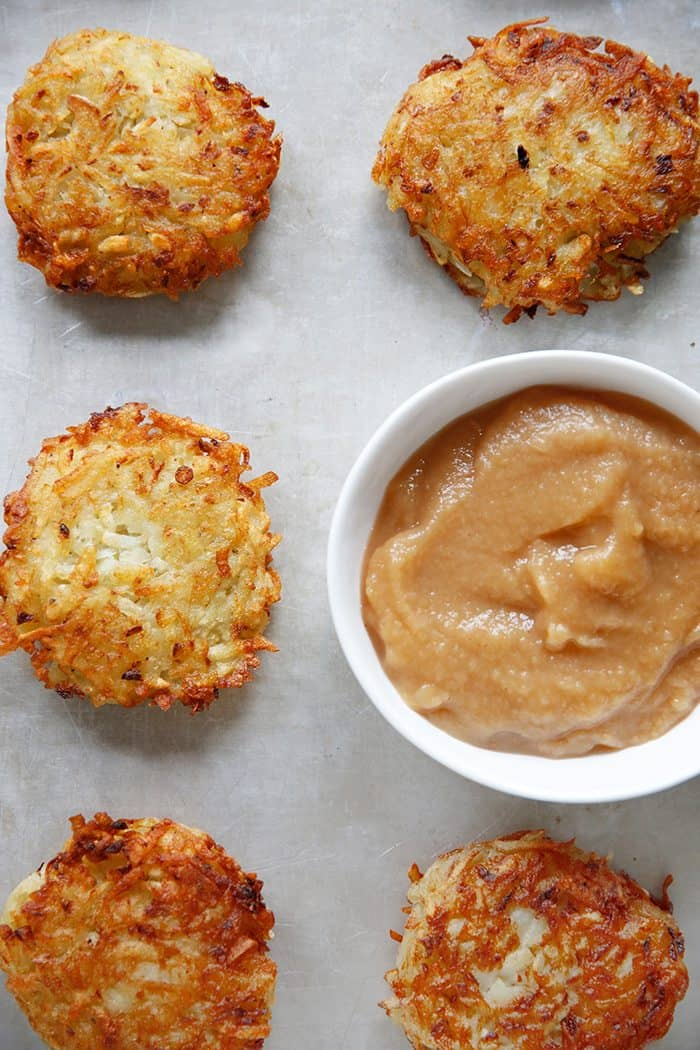 Classic Potato Latkes made gluten free