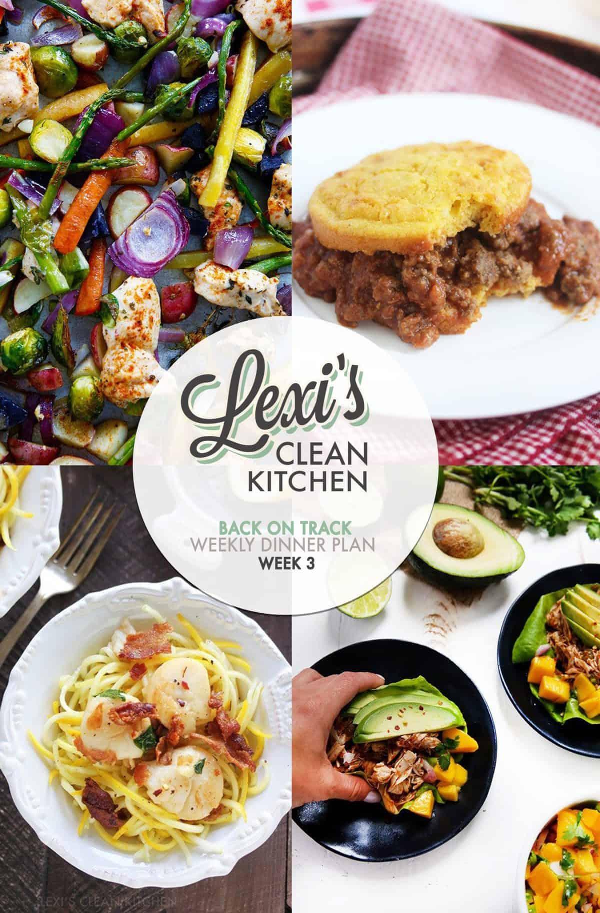 Lexi's Weekly Dinner Plan Week 3 (2017)