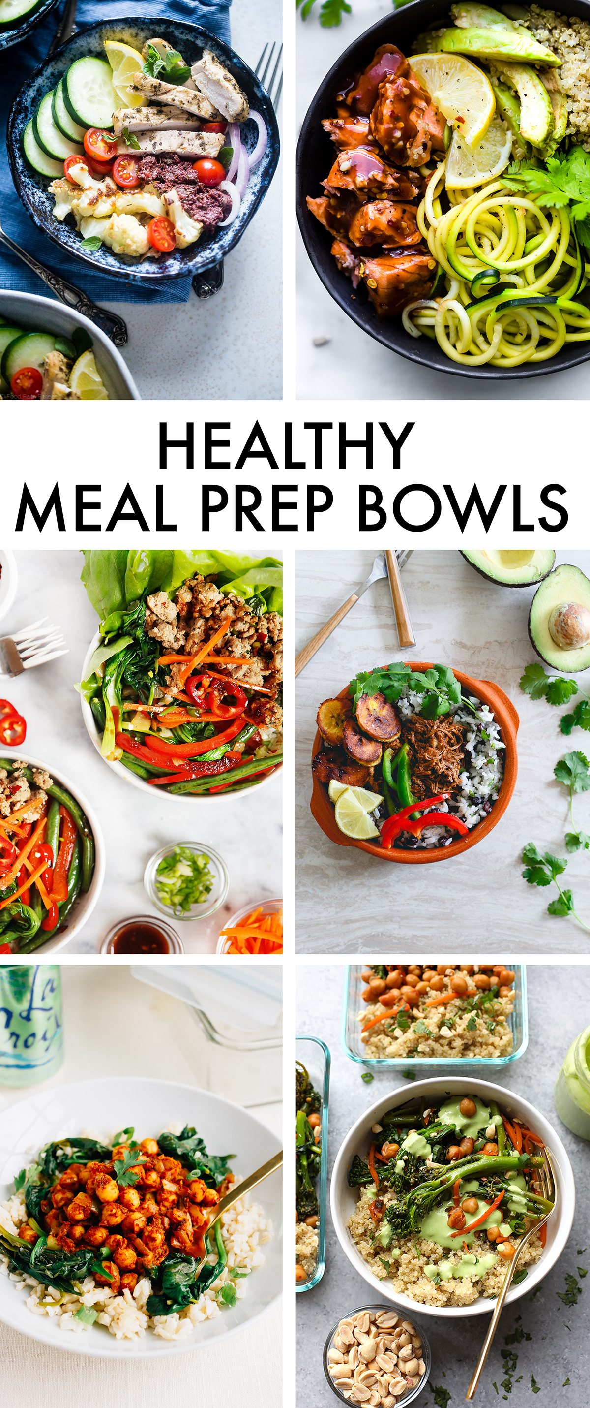Healthy Meal Prep Bowls