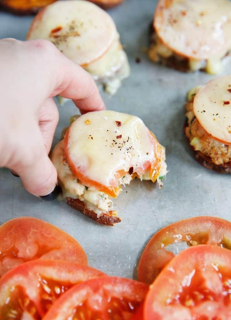 Sweet Potato Tuna Melts