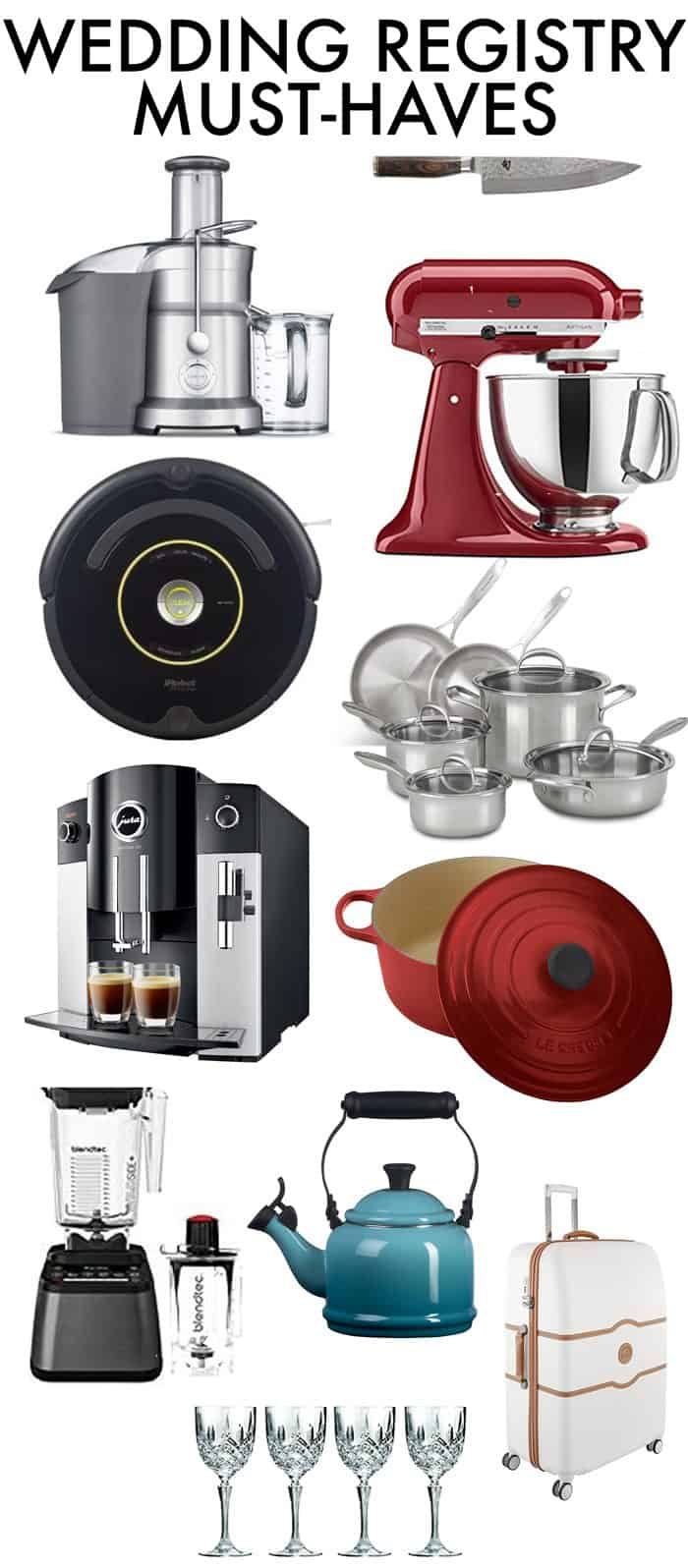 Wedding Registry Must-Haves