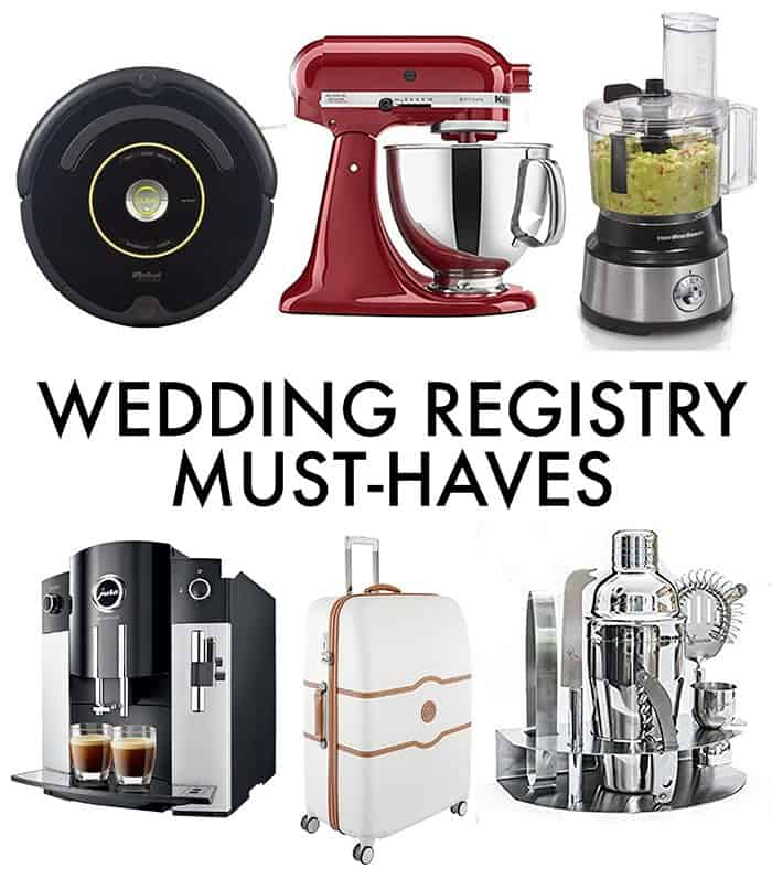 Must-Have Wedding Registry Items