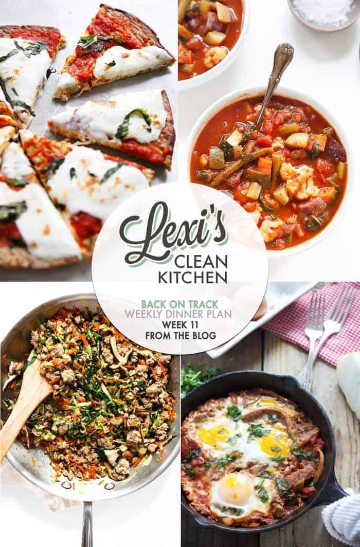 Lexi's Weekly Dinner Plan Week 11