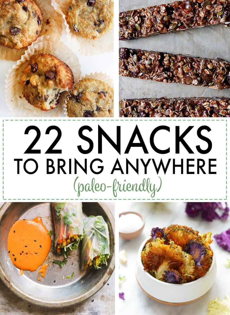 22 Paleo-friendly Snack Recipes You Can Bring Anywhere