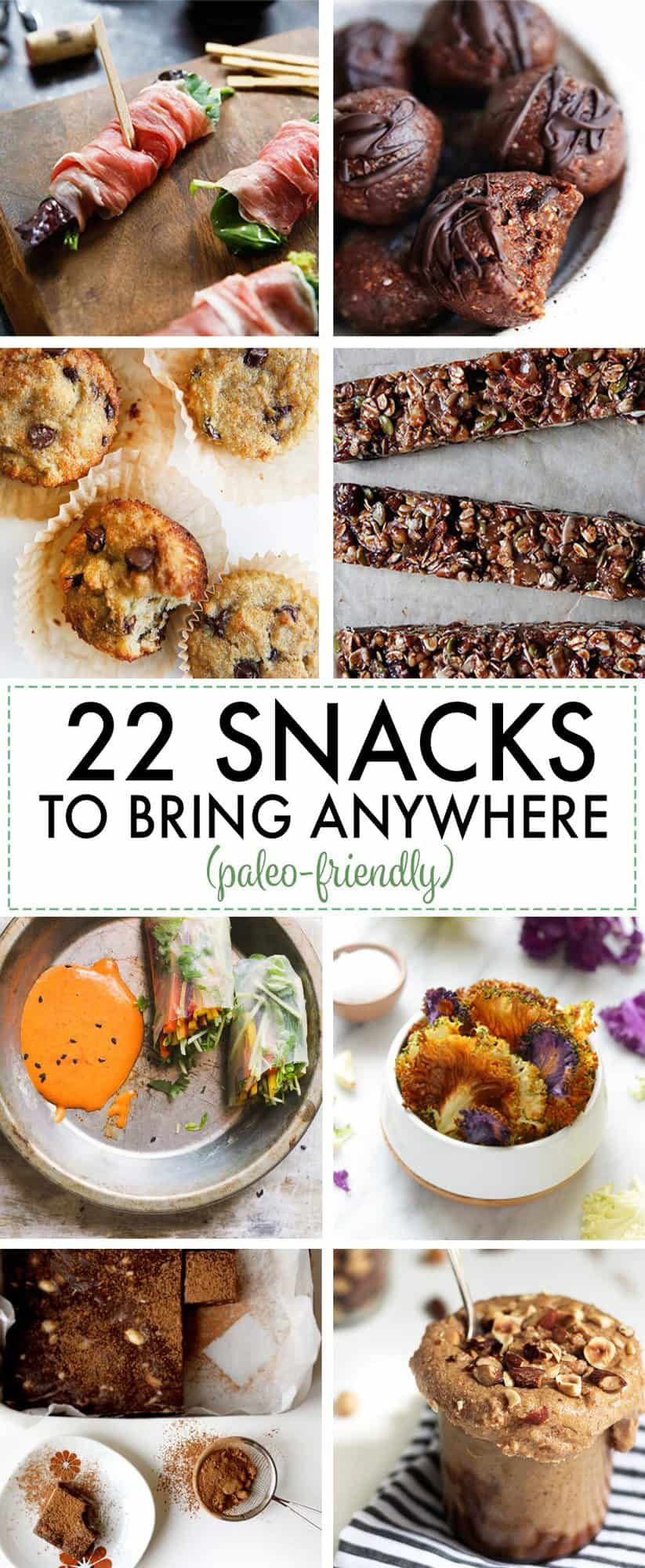 20 Healthy Snacks To Bring Anywhere