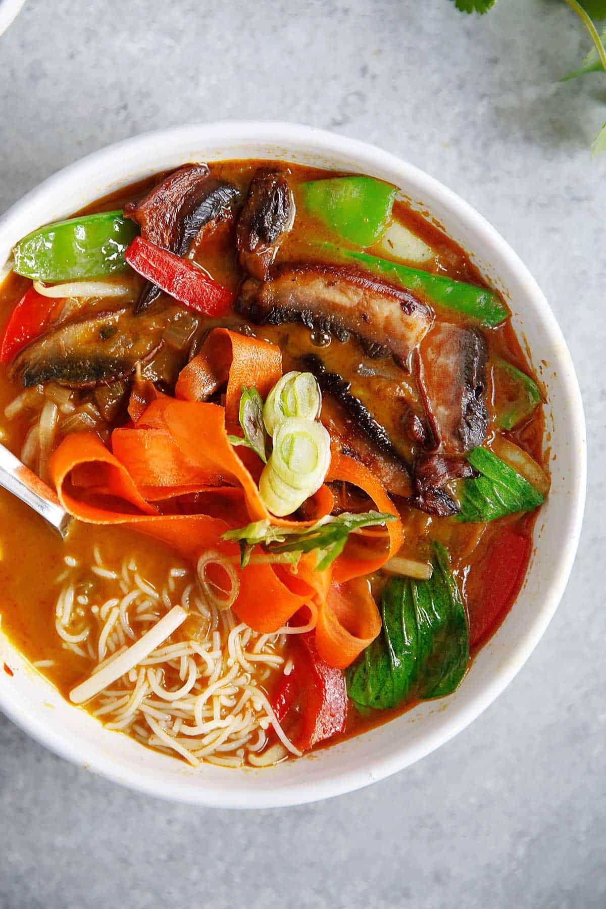 Curry Ramen Soup